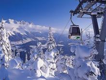 Альпы в январе это море снега и бесконечная красота