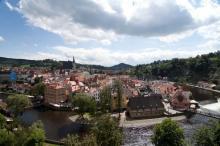 Очень красивый старинный городок Чески Крумлов