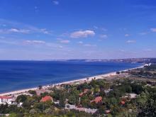 Черное море в Болгарии очень теплое и чистое