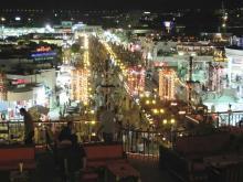 Горячие ночи Наама Бей предлагают сотни развлечений, для купивших путевки в Египет
