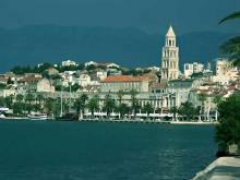 Сплит, очень красивый Хорватский город на берегу Адриатического моря