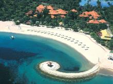 Один из пляжей на курорте Беноа – остров Бали