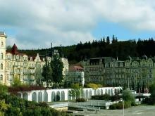 На Чешском курорте Марианские Лазне лечат очень большое количество заболеваний