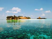 Маленький уютный отель на Мальдивах. Рай для двоих