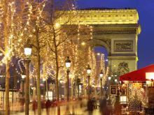 Новый год в Париже - Франция