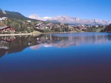 Отдых на курорте Кран-Монтана вы возможен не только зимой, но и летом