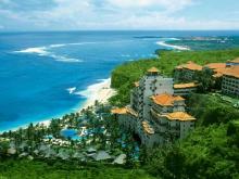 Природа на Бали очень пышная и отели утопают в зелени