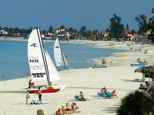 Чистейший пляж курорта Варадеро визитная карточка отдыха на Кубе