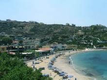 Пляж Лигария возле Греческого Ираклиона на острове Крит