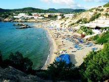 Набольшей пляж на Ибице