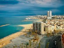 Побережье Испании в районе Барселоны отличное место для отдыха