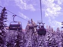 Подъемник на лыжном курорте Бад Хофгаштайн