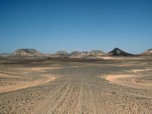 Глядя на Египетские пейзажи иногда, кажется, что смотришь на другую планету