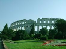 Амфитеатр – крупнейшая и известнейшая достопримечательность Пулы