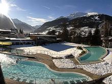 Термальные купальни в Итальянском курорте Бормио начинают свою историю в Древнем Риме.