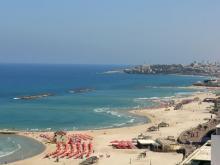 Турецкий пляж. Есть где разгуляться детям