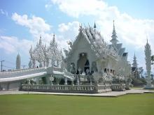 Одна из достопримечательностей Тайланда - Ват Ронг Кхун