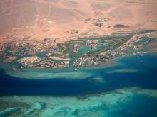 Вид на Эль Гунну - подберите тур в Египетскую Венецию