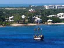 Некоторые панорамы Каймановых островов выглядят достаточно урбанистично
