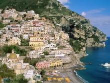 Вид на старую наиболее, привлекательную для экскурсий, часть столицы Сицилии Палермо