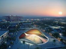 Большой выставочный центр в арабских Эмиратах